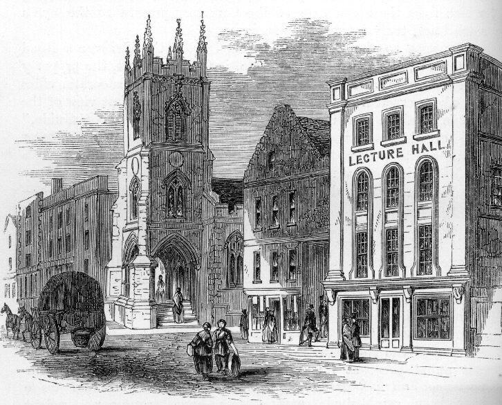 St Michael's in the 1870s