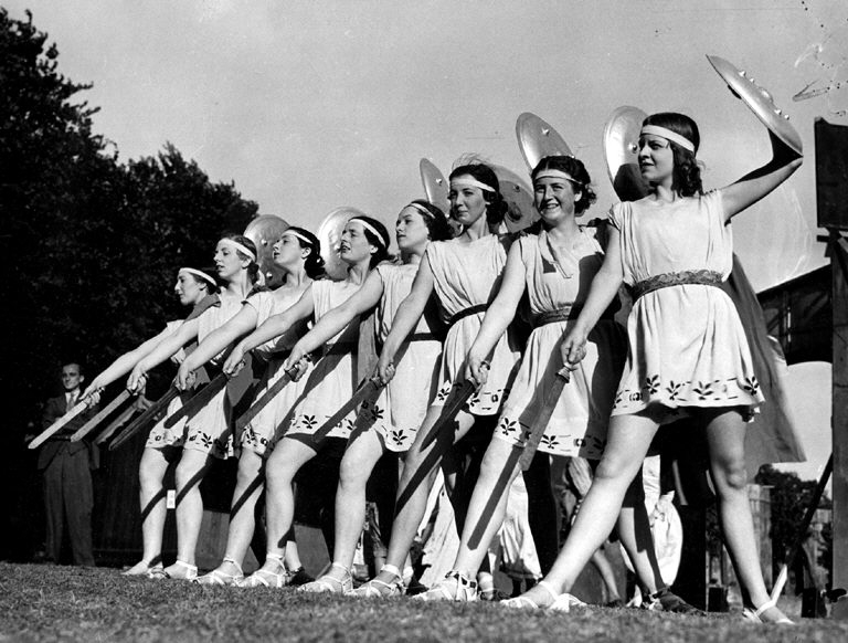 Warrior Queens Pageant 1937