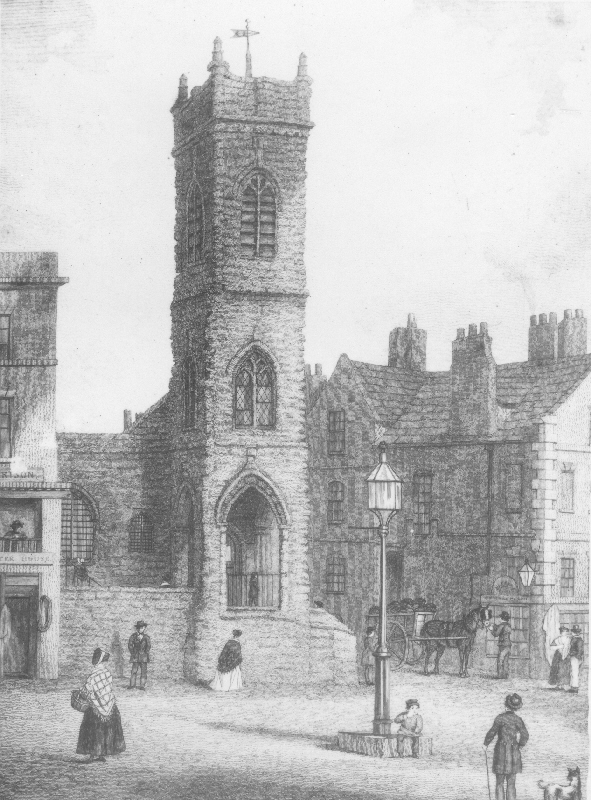 St Michael's in the early 1800s